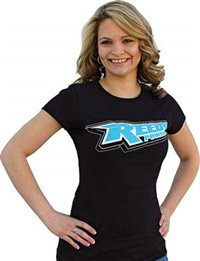 Associated Women's Reedy 3d T-Shirt, Black-Small