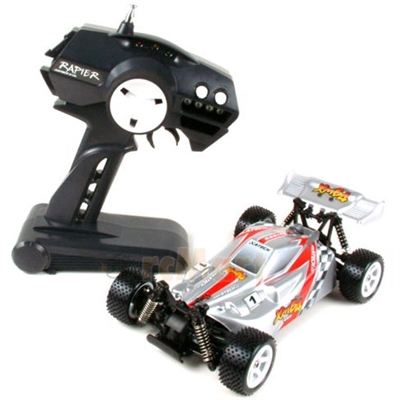 A-Tech Mini Buggy RTR With Silver Body, Motor And Battery