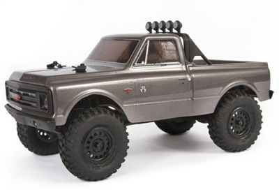 Axial SCX24 1967 C10 1/24th RTR Rock Crawler with silver body