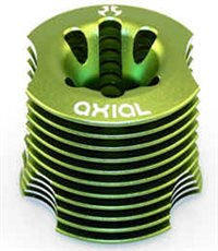 Axial .28 Heatsink Head, Green