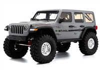 Axial 1/10 SCX10 III Jeep JLU Wrangler RTR with Portal Axles, Gray body