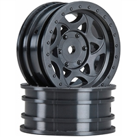 "Axial SCX10 Walker Evans 1.9"" Rock Crawler Rims, Black (2)"