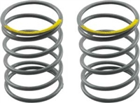 Axial SCX10 Shock Springs, Firm Yellow, 6.53 Lbs, 20mm (2)