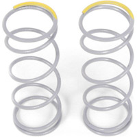 Axial SCX10 Shock Springs, Firm Yellow, 5.44 Lbs, 40mm (2)