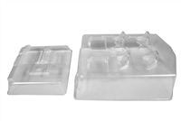 Axial Exo Terra Buggy Clear Interior Body Set, Requires Painting