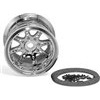 Axial 8 Spoke 40 Size Bead Lock Rims, Chrome (2)
