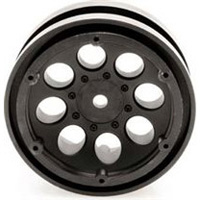 "Axial 1.9"" 8 Hole Beadlock Rims, Black (2)"