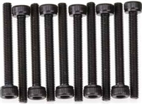 Axial AX10 Scorpion Screws, 3 x 25mm Cap Head, Black (10)