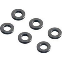Axial AX10 Scorpion 3mm Id Spacers, Gray, 1 x 6mm (6)