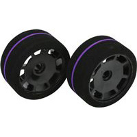 BSR Racing 1/10th GT Spec Front Foam Tires, purple (2)
