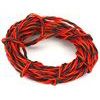 Custom Electronics 26 Ga Servo Lead Wire-Brown, Red, Orange (12 Feet)