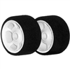 CRC Pro Cut Mounted Foam Tires, 1/12 Front Black (2)