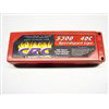 CRC 5300mAh 7.4v 40c Lipo Battery Pack With 4mm Bullet Conns.