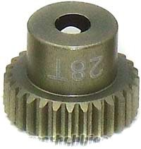 CRC Gold Standard 64 Pitch Pinion Gear, 28 Tooth