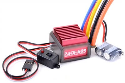 Core R/C Pace 60r Brushless ESC for 1s and 2s Lipo
