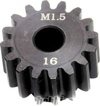 Castle Creations Mod-1.5 Pinion Gear, 16 Tooth For 1/5Th Cars