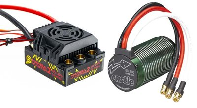 Castle Creations Mamba Monster 2 Waterproof Esc With Nc1512 2650kv 1/8 Motor