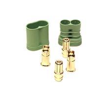 Castle Creations 6.5mm Polarized Bullet Connector Set (1 Pair)