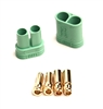 Castle Creations 4mm Polarized Bullet Connector Set (1 Pair)