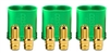 Castle Creations 6.5mm Polarized Bullet Connectors-Male (3)