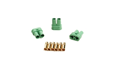 Castle Creations 4mm Polarized Bullet Connectors-Female (3)