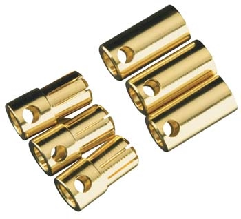 Castle Creations 6.5mm Bullet Connector Set (3)