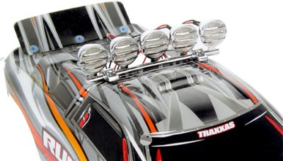 Common Sense RC Crawler Led Light Bar With 5 Buckets, Chrome
