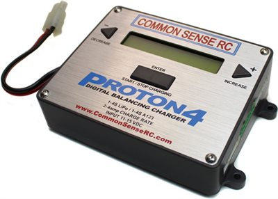 Common Sense RC Proton 4 Lipo Battery Balance Charger