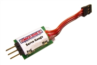 Common Sense RC Servo Power Use Gauge