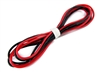 "Common Sense RC 20 Gauge Super FleXIble Wire, Silicone, 30"" Each Black/Red"