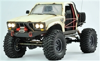 Cross RC SG4C Demon 4x4 Crawler Kit, with Hard Body and CNC Gears, 1/10th Scale