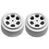 DE Racing Ten-SCTE Trinidad Rims, White (2)