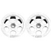 DE Racing T4.1 Trinidad Stadium Truck Rims, White (2)