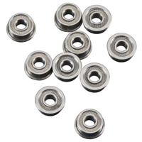 "Duratrax Bearings 1/8"" x 5/16"" Flanged, teflon seals (10)"