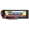 Duratrax 5000mAh 25c 7.4v Lipo Battery, Hard Case, WSDeans Ultra Plug