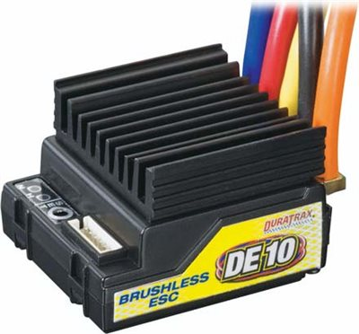 Duratrax DE10 Brushless Programable ESC