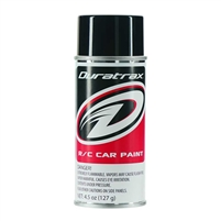 Duratrax PC250 Basic Black Polycarb Spray Paint, 4.5oz