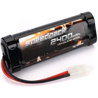 Dynamite 2400mAh 7.2V 6-cell NiMH Stick Battery Pack with Tamiya Plug