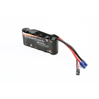 Dynamite 6V 3000mAh NiMh 5C Flat Receiver Pack for Losi 5T