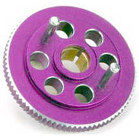 Dynamite Savage 2-Shoe Flywheel-Purple Aluminum, Light Weight