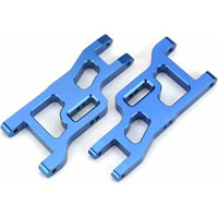 Dynamite Slash/Rustler/Stampede Front Lower A-Arms, Blue Aluminum