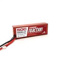 Dynamite Reaction HD 11.1V 5000mAh 50C 3S Hardcase LiPo Battery with EC5 connector