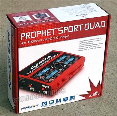Dynamite Prophet Sport Quad 4 X 100W AC//DC LiPo//NiMH Battery Charger DYNC2050