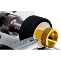Exotek Racing Micro Arbor Gold Wheel Lock for Xray M18, HPI Micro RS4