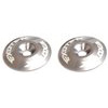 Exotek Racing Aluminum Wing Buttons, Gun Metal Gray (2)