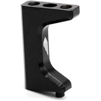 Exotek Racing 22-4 Aluminum Servo Mount, Black