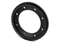 Exotek Racing D413 Machined Spur Gear, 72 tooth for EXO1497 Mounting Plate