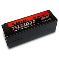 Fantom 5800mAh 15.2V 4S Pro Series Lipo Battery, 110c, 5mm bullets