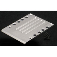 Fast Lane Machine E-Maxx (3905) Center Skid Plate, Aluminum