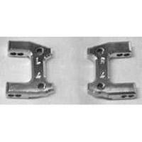 Fast Lane Machine Nitro Rustler Rear Suspension Mounts, Aluminum 1 Deg/-4 Deg